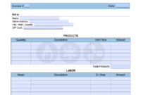 Hvac Service Invoice Template – Onlineinvoice inside Air Conditioning Invoice Template