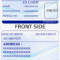 Id Card Printable – Colona.rsd7 With Regard To Auto Insurance Id Card Template