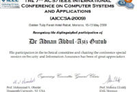 Ieee At For Research Paper Writing Template Latex Download for Certificate Of Attendance Conference Template