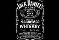 Images Of Jack Daniel S Label Template Vector Download intended for Blank Jack Daniels Label Template