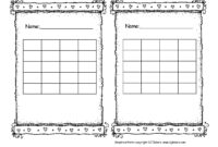 Incentive Sticker Charts – Colona.rsd7 within Blank Reward Chart Template