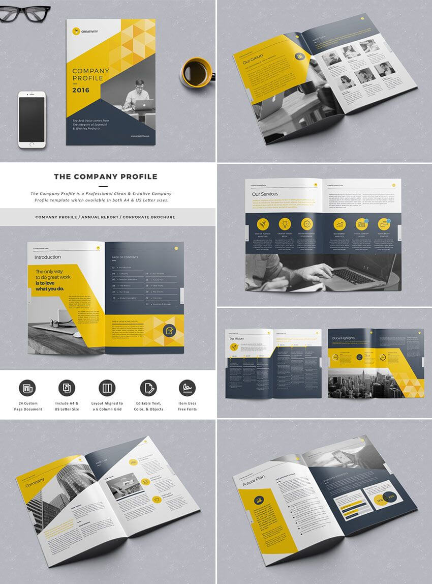 Indesign Business Plan Template Free The Company Profile Intended For Business Plan Template Indesign