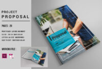 Indesign Business Proposal Template On Behance in Business Plan Template Indesign