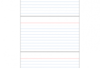 Index Card Template Free Recipe 3X5 For Mac 4X6 Pages Blank in 3X5 Note Card Template For Word