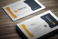 Innovate Business Card Template 000277 – Template Catalog in Adobe Illustrator Business Card Template
