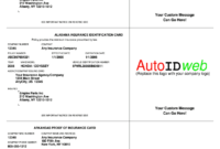 Insurance Card Template – Fill Online, Printable, Fillable with Auto Insurance Card Template Free Download