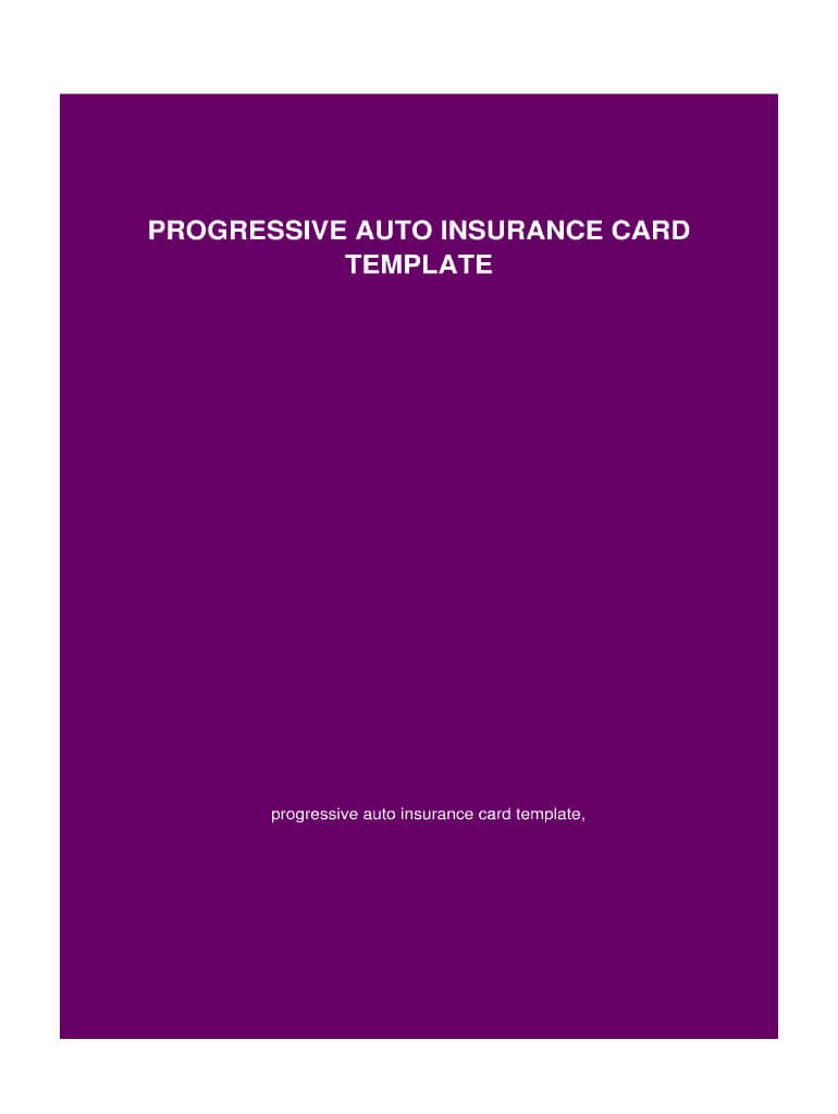 Insurance Card Template – Fill Online, Printable, Fillable Within Car Insurance Card Template Free