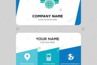 International Calling Service Business Card Design Template for Call Card Templates