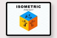 Isometric Style Preset Powerpoint Templates – Powerpoint Free in Ambulance Powerpoint Template