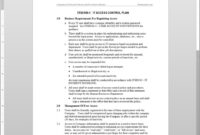 It Access Control Plan Template | Itsd106-1 intended for Access Control Policy Template