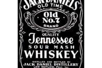 Jack Daniels Label Generator – Trovoadasonhos throughout Blank Jack Daniels Label Template