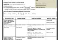 Job Hazard Analysis – Task Specific for Activity Hazard Analysis Template
