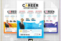 Job Vacancy Flyersc Workspace On Dribbble throughout Career Flyer Template