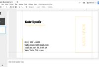 Kate Spade Business Card Template For Google Docs – Stand pertaining to Business Card Template For Google Docs