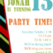Kids Birthday Party Invites Templates – Tunu.redmini.co Regarding 13 Birthday Invitation Templates