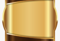 Label Template Brown Gold – Art Label Border Template, Hd pertaining to Artwork Label Template