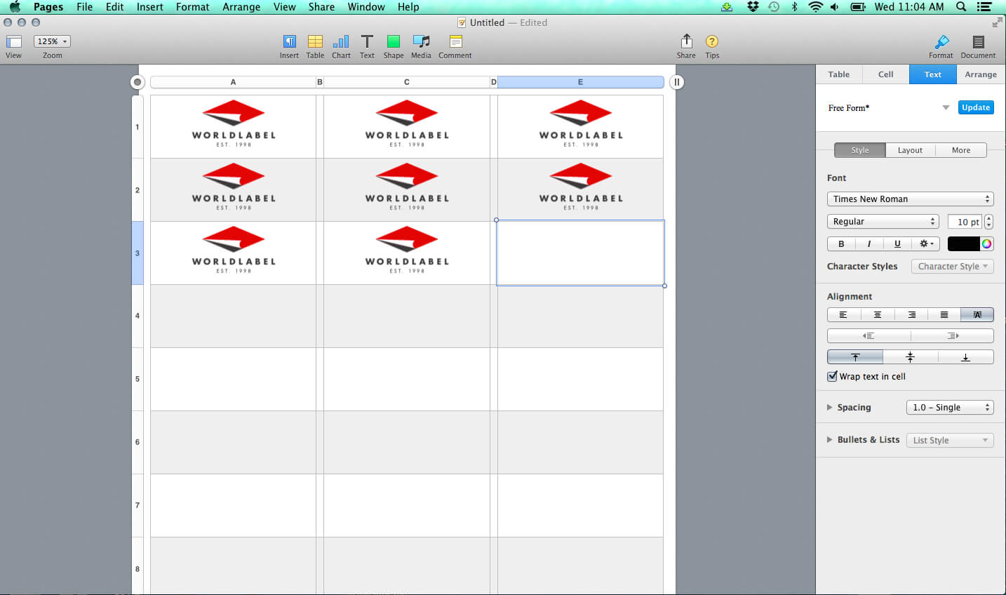 Label Templates For Pages For A Mac Released   Free Inside Address Label Template For Mac
