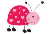 Ladybug Printable Pdf Template Stationery Set | Kim | Flickr with Blank Ladybug Template
