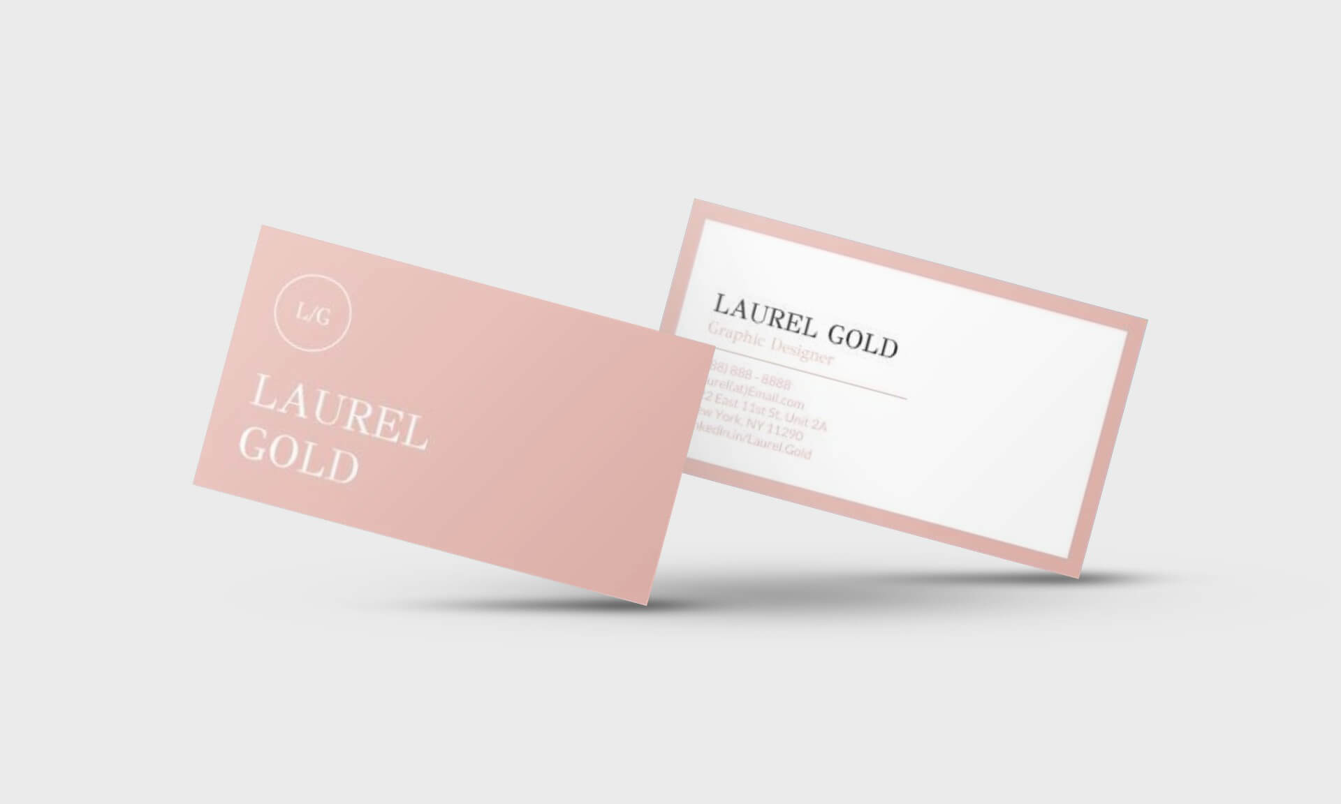Laurel Gold Google Docs Business Card Template - Stand Out Shop Regarding Business Card Template For Google Docs