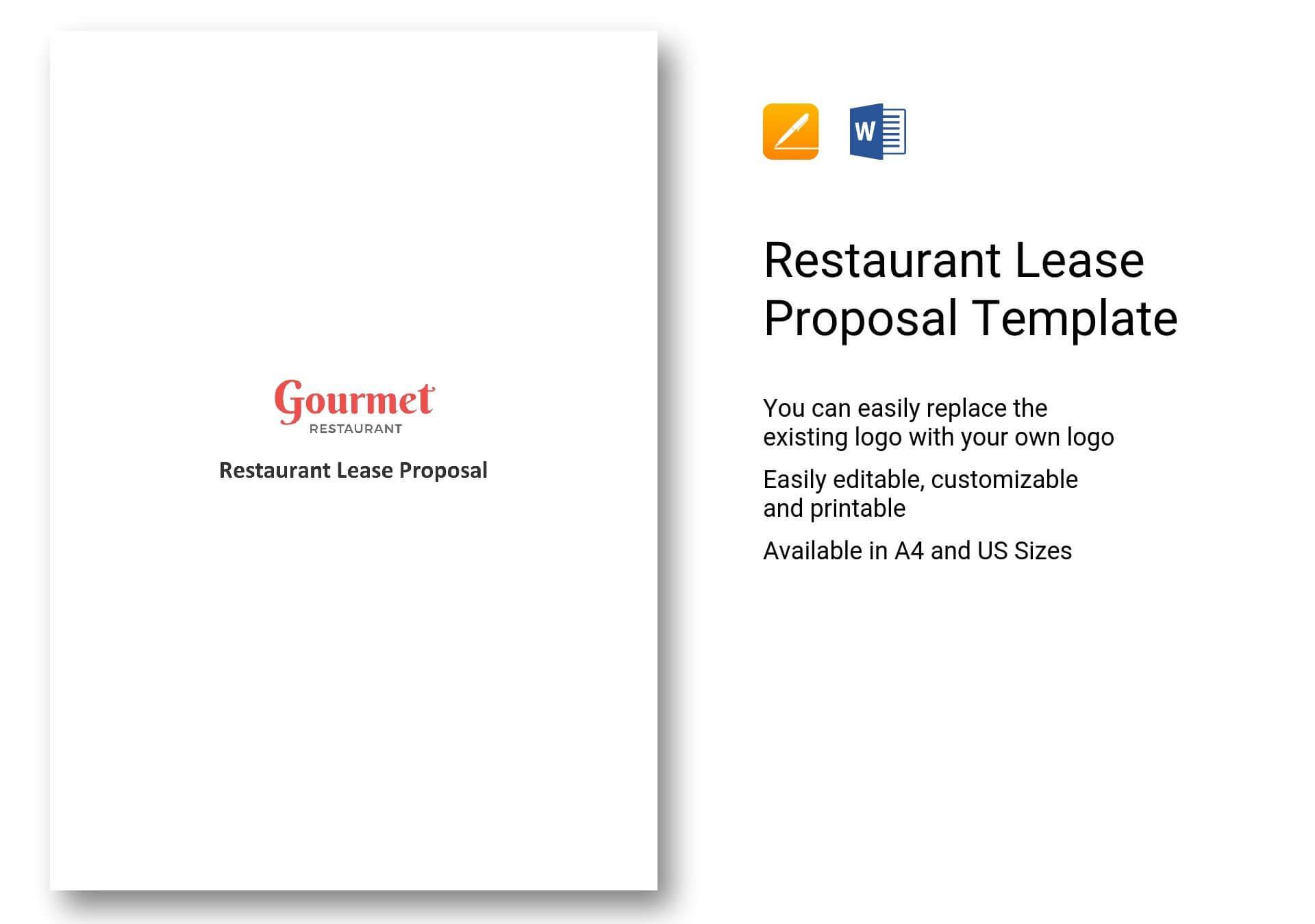Lease Business Proposal Template Plan Rental Uk | Rainbow9 For Business Lease Proposal Template