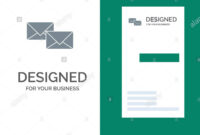 Mail, Reply, Forward, Business, Correspondence, Letter Grey regarding Business Reply Mail Template