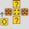 Mario Coin Block Perler Layout Perler Bead Pattern   Bead For Blank Perler Bead Template