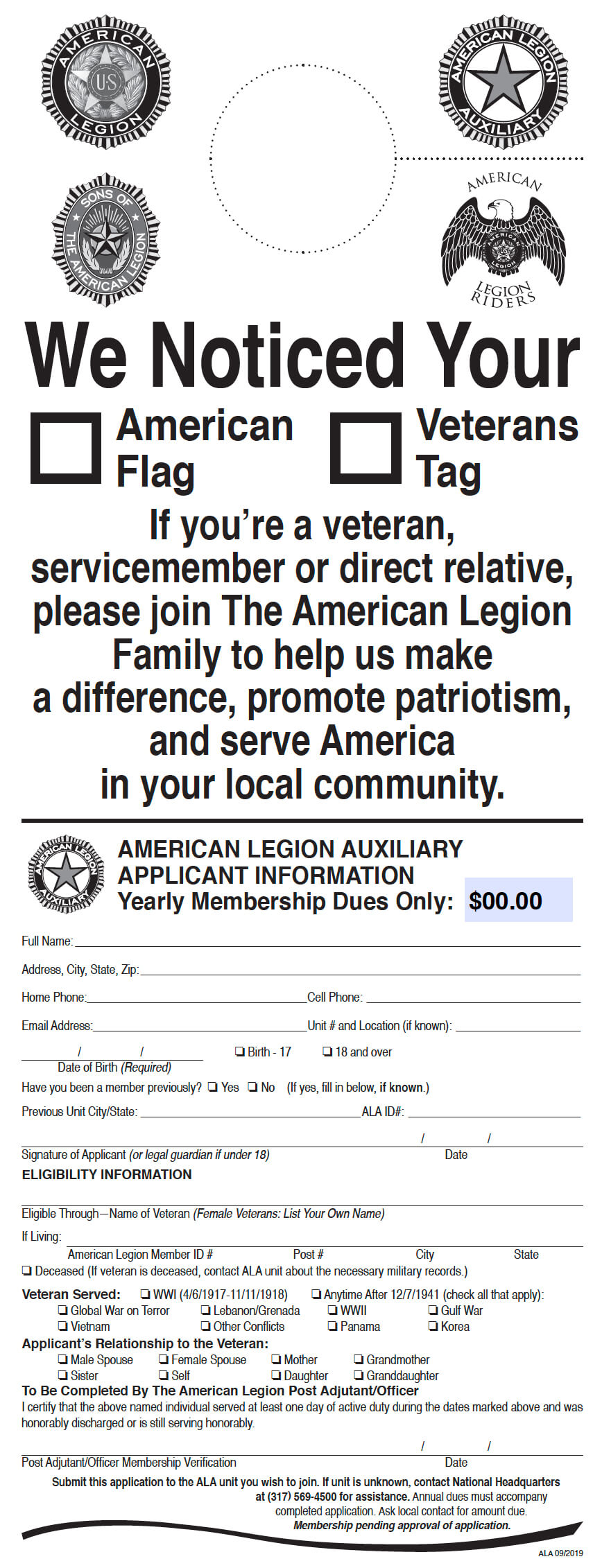 Marketing & Promotional Materials - American Legion Auxiliary Intended For American Legion Letterhead Template