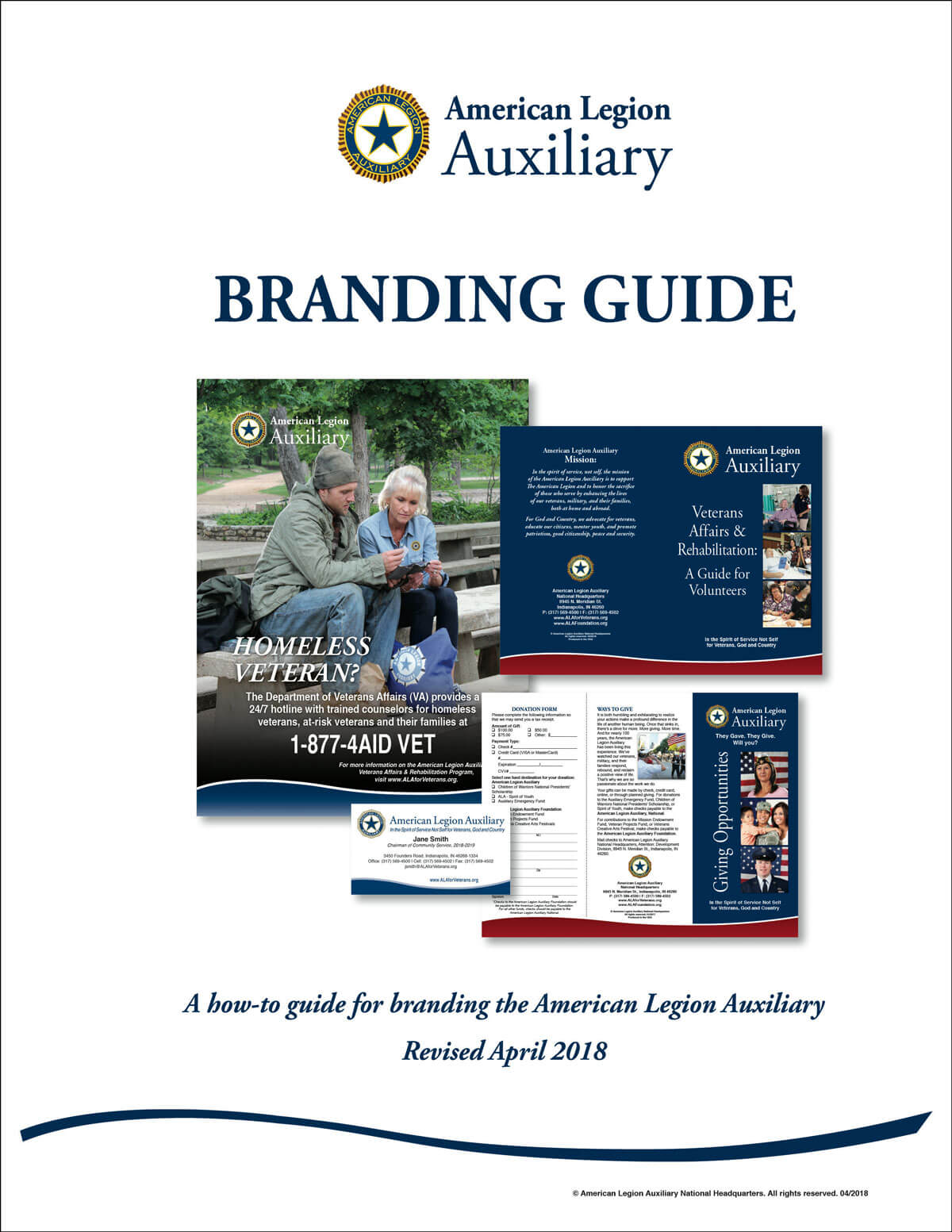 Marketing & Promotional Materials - American Legion Auxiliary Within American Legion Letterhead Template