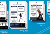 Marketing Resources – Registration Templates – Little League throughout Baseball Fundraiser Flyer Template