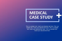 Medical Case Study Powerpoint Template pertaining to Case Presentation Template