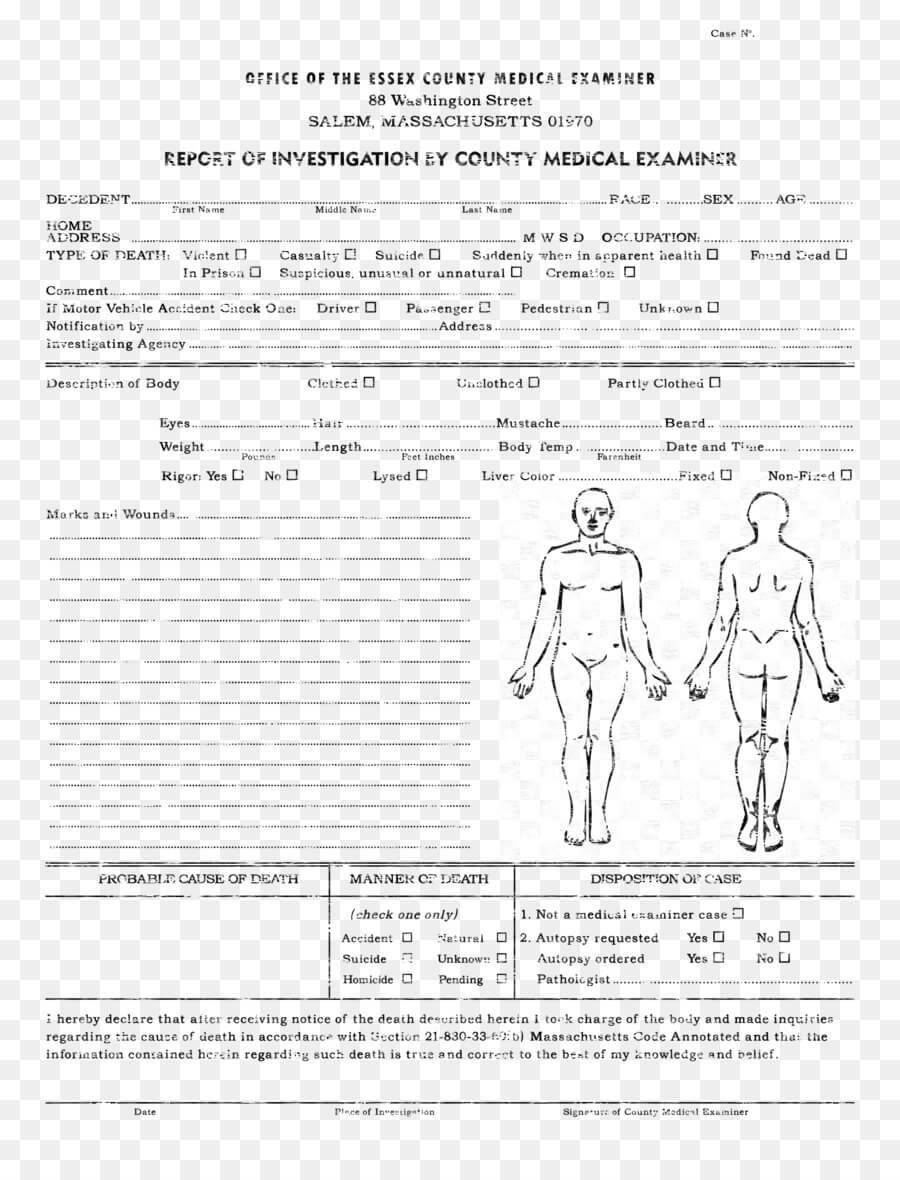 Medicine Cartoon Png Download - 2550*3300 - Free Transparent Regarding Autopsy Report Template