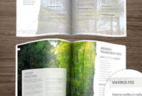 Minimalist Corporate Brochure Templates From Graphicriver regarding 12 Page Brochure Template