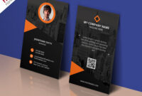 Modern Corporate Business Card Template Free Psd pertaining to Calling Card Template Psd