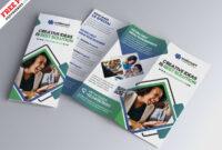 Modern Tri-Fold Brochure Design Psdpsd Freebies On Dribbble with regard to 3 Fold Brochure Template Psd