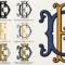 Monogram Fonts Co. « Myfonts For 3 Letter Monogram Template