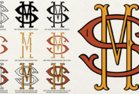Monogram Fonts Co. « Myfonts with 3 Letter Monogram Template