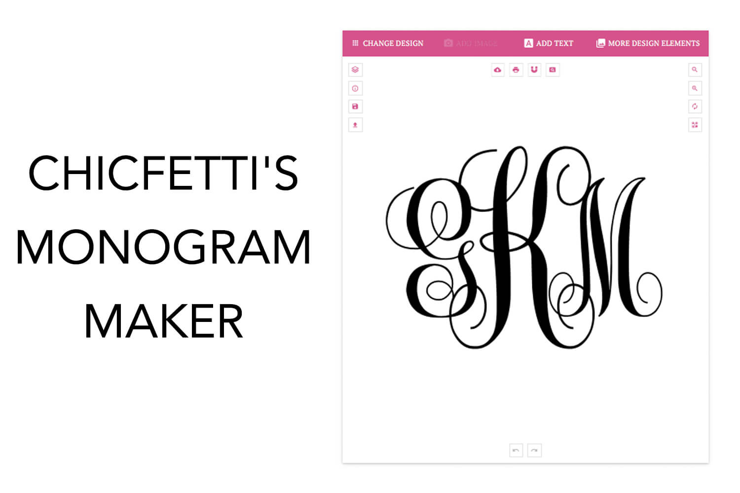 Monogram Maker - Make Your Own Monograms Using Our Free In 3 Letter Monogram Template