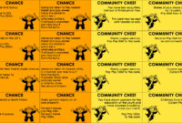 Monopoly Chance Cards Printable That Are Eloquent   William Blog regarding Chance Card Template
