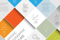 Mosaic Infographic Template for Adobe Illustrator Infographic Templates