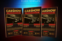 Motor Show Flyer Template | Download Psd File Here: Graphicr throughout Car Show Flyer Template