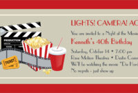 Movie Ticket Clipart Template for Blank Admission Ticket Template
