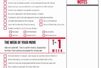 Moving House T Spreadsheet For Abroad Business Pdf Excel pertaining to Business Relocation Plan Template