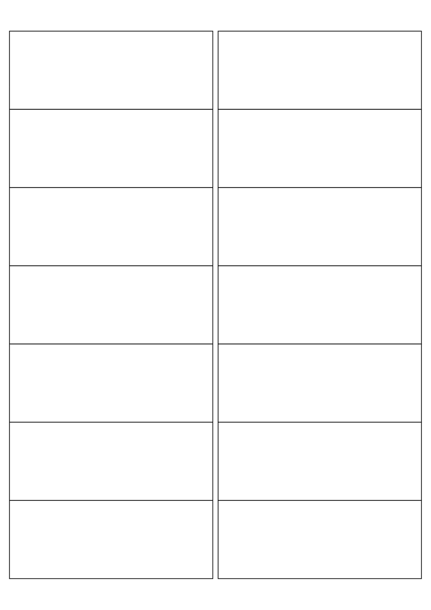 Mr114 – 99.1 X 38.1 Mm – A4 Sheet – 14 Rectangular Square Pertaining To 99.1 Mm X 38.1 Mm Label Template