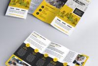 Multipurpose Tri-Fold Brochure Psd Template | Psdfreebies for 3 Fold Brochure Template Psd