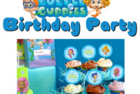Musings Of An Average Mom: Bubble Guppies Party Printables intended for Bubble Guppies Birthday Banner Template