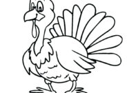 New Coloring Pages : Printable Thanksgiving Turkey Free regarding Blank Turkey Template