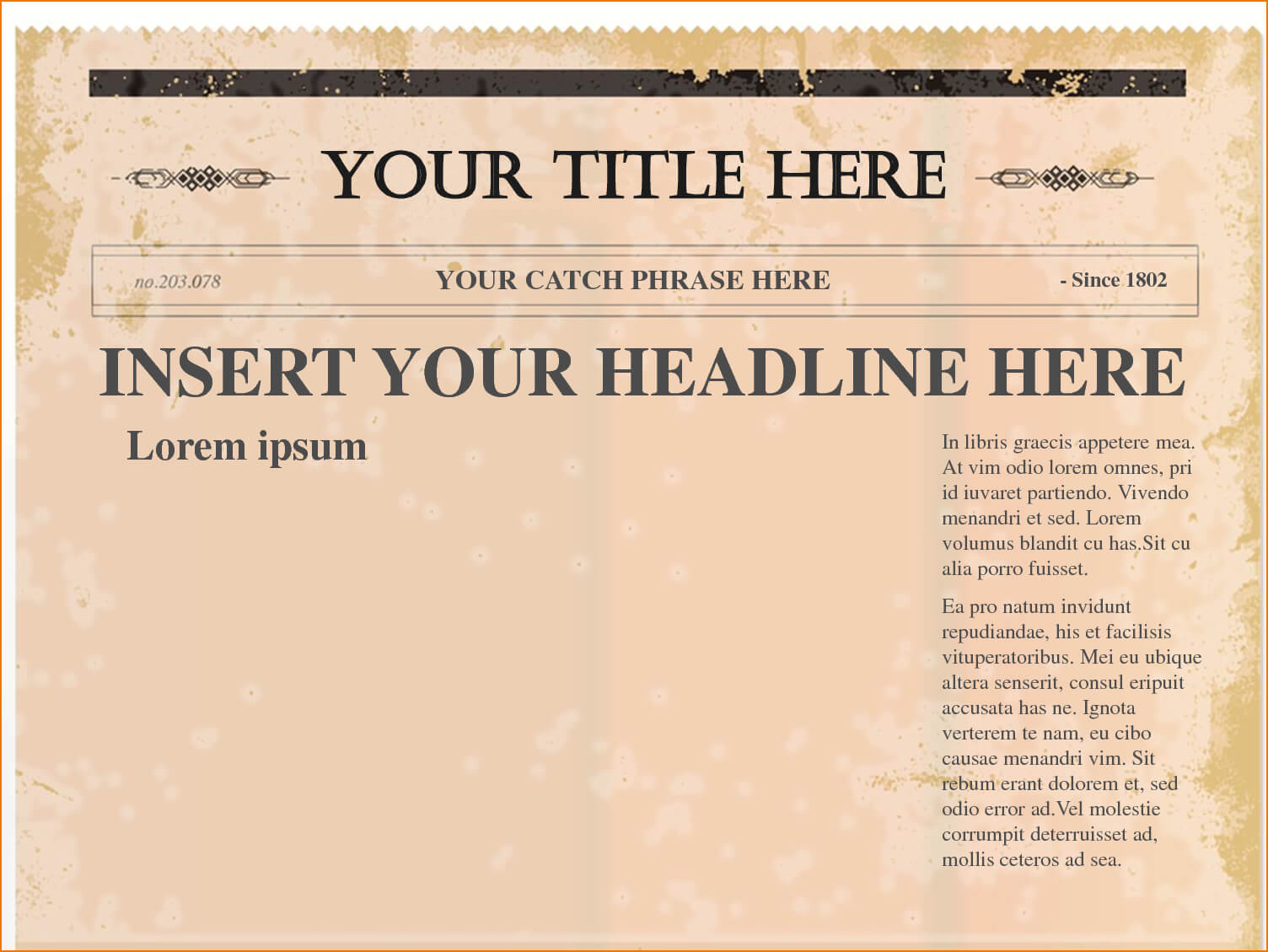 Newspaper Template Png - Tunu.redmini.co Pertaining To Blank Old Newspaper Template