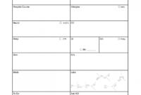 Nursing Shift Report Forms Nurse Form Change Example Sheet regarding Charge Nurse Report Sheet Template