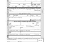 Oregon Uniform Citation – Fill Online, Printable, Fillable with Blank Parking Ticket Template