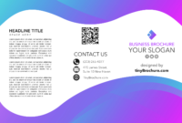 Pamphlet Template Google Docs Free with regard to Brochure Template Google Docs